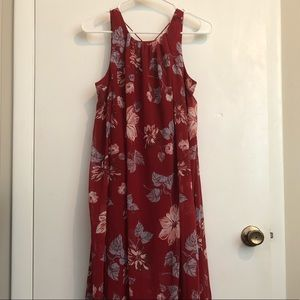 Free People - Floral Maxi Dress